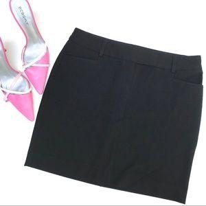 Black Express Skirt, Size 4, EUC